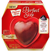 Duncan Hines Perfect Size Red Velvet Crush Heart