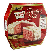 Duncan Hines Perfect Size Strawberry & Creme Cake Mix