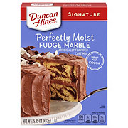 Duncan Hines Signature Fudge Marble Cake Mix
