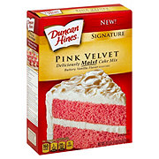 Duncan Hines Signature Pink Velvet Cake Mix
