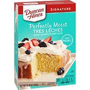 Duncan Hines Tres Leches Three Milk Premium Cake Mix