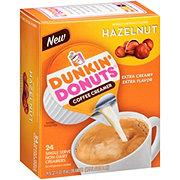 Dunkin' Donuts Hazelnut Liquid Coffee Creamer Singles