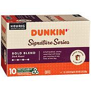 Dunkin' Donuts Signature Series Bold Blend Single Serve Coffee K Cups