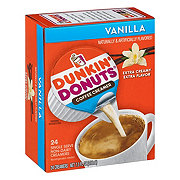 Dunkin' Donuts Vanilla Liquid Coffee Creamer Singles