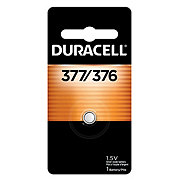 Duracell 377 Silver Oxide Button Battery