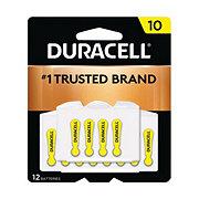 Duracell Easy Tab Hearing Aid Size 10 Duralock Batteries