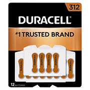 Duracell Easy Tab Hearing Aid Size 312 Duralock Batteries