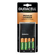 Duracell Rechargeable Ion Speed 4000 AA/AAA Batteries Quick Charger