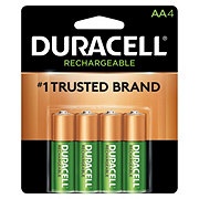 Duracell Rechargeable NiMH Long Life Ion Core AA Batteries
