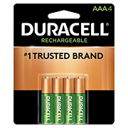 Duracell Rechargeable NiMH Long Life Ion Core AAA Batteries