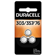 Duracell Silver Oxide 303/357 Button Batteries