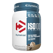 Dymatize Nutrition ISO-100 Cookies & Cream 100% Hydrolyzed Whey Protein Isolate