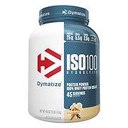 Dymatize Nutrition ISO-100 Gourmet Vanilla 100% Hydrolyzed Whey Protein Isolate