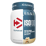 Dymatize Nutrition ISO-100 Hydrolyzed Whey Protein Isolate Vanilla