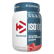 Dymatize Nutrition ISO-100 Strawberry Hydrolized 100% Whey Protein Isolate
