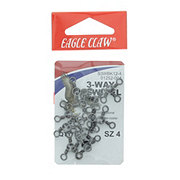 Eagle Claw 3 Way Swivle, Size 4