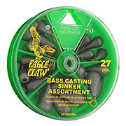 Eagle Claw Bass Casting Sinker Assortment