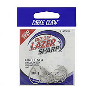 Eagle Claw Lazer Sharp L197 Circle Sea Hook Size 2/0