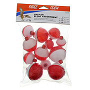 Eagle Claw Red/White Snap-On Float Assortment