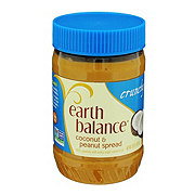 Earth Balance Coconut and Peanut Spread, Crunchy