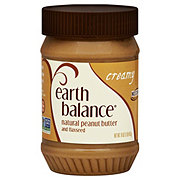 Earth Balance Natural Creamy Peanut Butter and Flaxseed