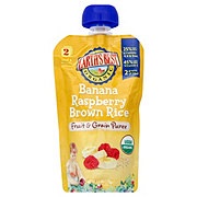 Earth's Best Organic Banana Raspberry Brown Rice