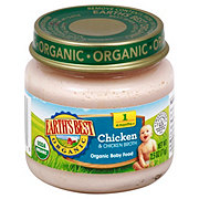 Earth's Best Organic Chicken And Chicken Broth Baby Food