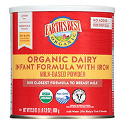 Earth's Best Organic Infant Formula Dairy w/ DHA