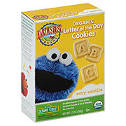 Earth's Best Organic Letter of The Day Sesame Street Very Vanilla Cookies