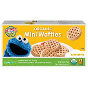 Earth's Best Organic Sesame Street Homestyle Mini Waffles