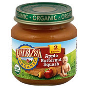 Earth's Best Organic Stage 2 Apple Butternut Squash