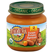 Earth's Best Organic Stage 2 Sweet Potato Apricot