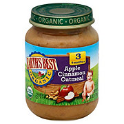Earth's Best Organic Stage 3 Apple Cinnamon Oatmeal Chunky Blend