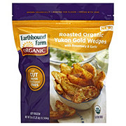 Earthbound Farm Organic Roasted Organic Yukon Gold Wedges w/ Rosemary & Garlic