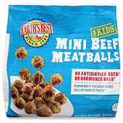 Earths Best Kidz Baked Mini Beef Meatballs