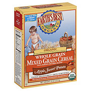Earths Best Organic Apple Sweet Potato Mixed Grain Cereal