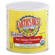 Earths Best Organic Infant Soy Formula with Iron