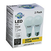 EarthTronics 1100 Lumens 11 Watt A19 LED Soft White EarthBulbs