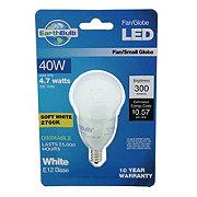EarthTronics 300 Lumen A15 Fan/Globe LED White E12 Base Soft White EarthBulb
