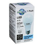 EarthTronics 800 Lumens 9.5 watt A19 LED Daylight EarthBulb