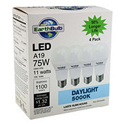 EarthTronics A19 11 Watts Daylight Eco Non Dimmable