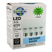 EarthTronics A19 5.5 Watts Daylight Eco Non Dimmable