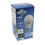 EarthTronics A19 7W 5000K 220 Non-Dimmable Bulb