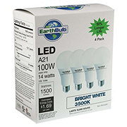 EarthTronics A21 LED 100W 1500 Lumens Bright White