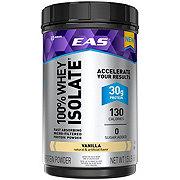 EAS 100% Whey Isolate Protein Powder Vanilla