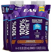 EAS 100% Whey Protein Ready-to-Drink Chocolate Shake 4 pk