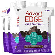 EAS AdvantEDGE Carb Control Ready-to-Drink Rich Dark Chocolate Protein Shake 4 pk