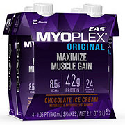 EAS Myoplex Original Chocolate Fudge Protein Shake 4 pk