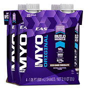 EAS Myoplex Original Rich Dark Chocolate Protein Shake 4 pk