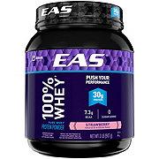 EAS Strawberry 100% Whey Protein Powder